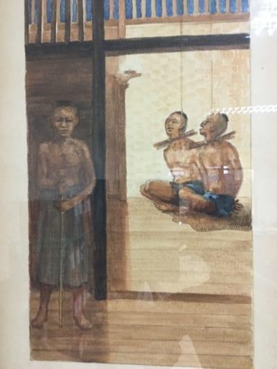 タイ人キリスト教徒 殉教の様子